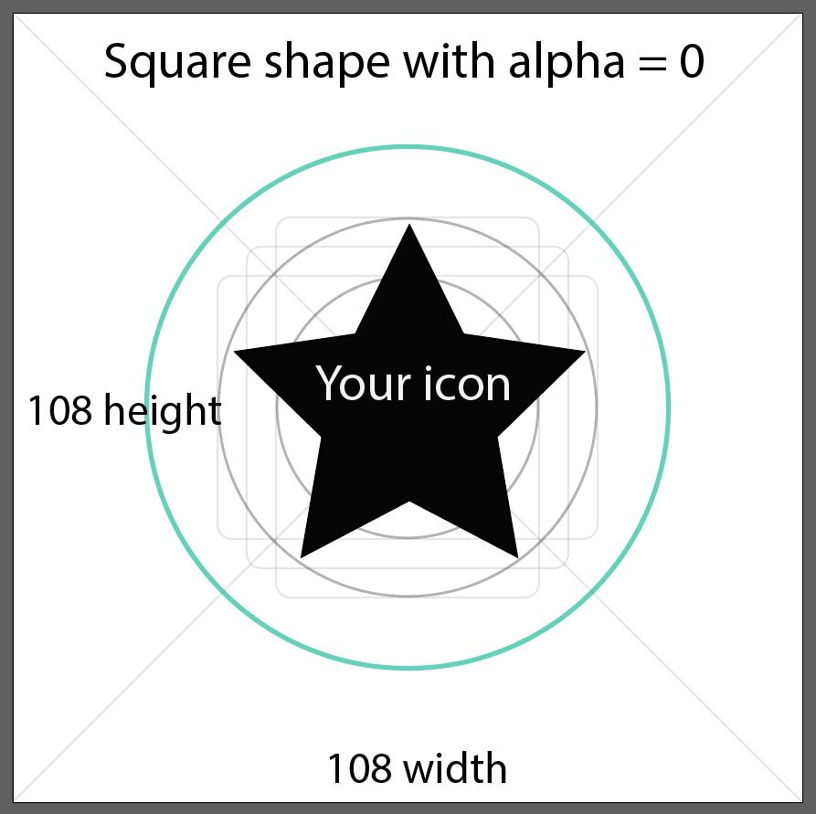 Android 8 adaptative (vector) icons – Diego Ponce de León